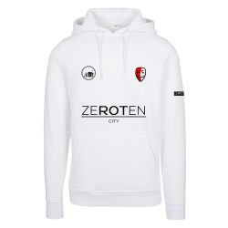 Jersey Hoodie white