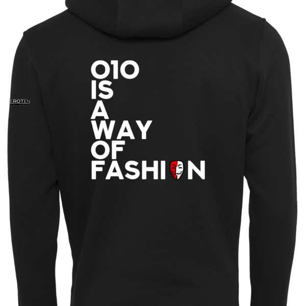 010 is a way of fashion hoodie