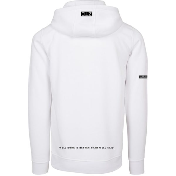 ZEROTEN CITY THINGS WHITE HOODIE