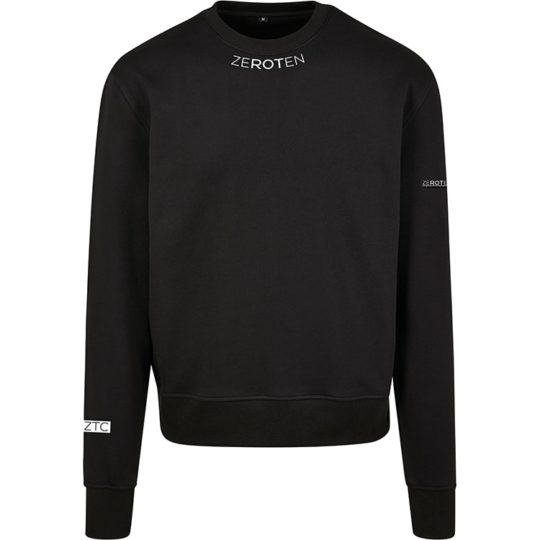 ZTC BLACK SWEATER FRONT BLACK