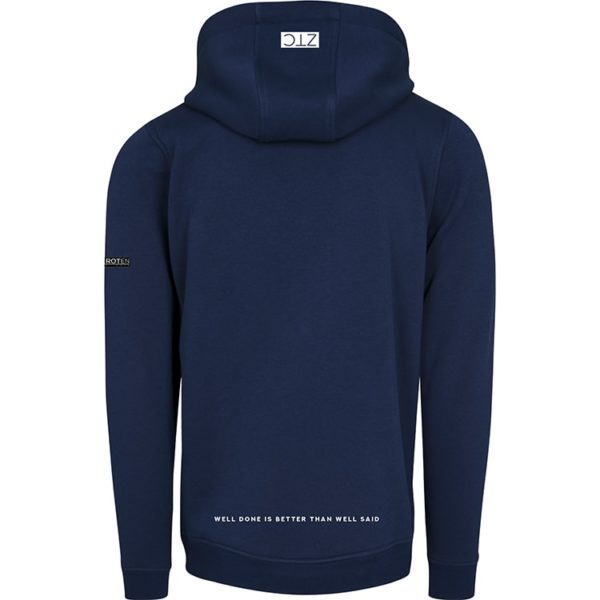 ZTC CITY THINGS NAVY HOODIE BACK