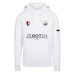 ZeroTen Jersey Hoodie White