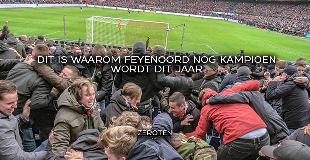 3 redenen waarom Feyenoord nog kampioen wordt dit jaar